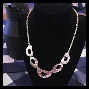 All sterling silver gorgeous necklace, never worn!